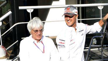 Ecclestone 'regrette' le retour de Schumacher