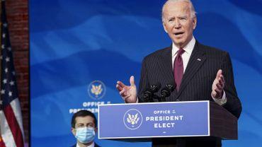 Coronavirus: Joe Biden sera vacciné lundi contre le Covid-19