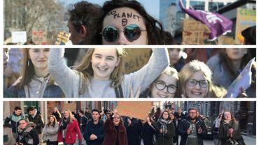 Mons, Namur, Jodoigne, Bruxelles: le mouvement #youth4climate continue de mobiliser