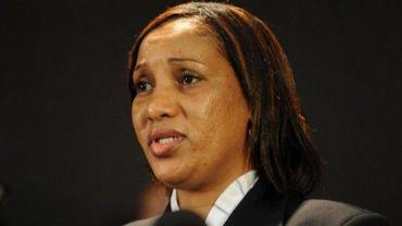 Nafissatou Diallo s'exprime face à la presse, le 28 juillet 2011 à New York