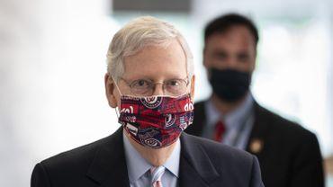 Le chef de la majorité républicaine au Sénat, Mitch McConnell
