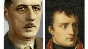 """""""Napoléon et De Gaulle. Deux héros français."""" de Patrice Gueniffey"""