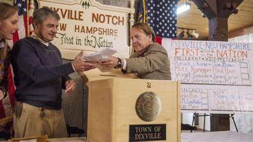 Les citoyens de Dixville Notch, dans le New Hampshire, les premiers à voter