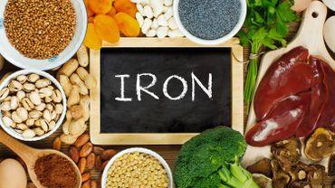 Faites le plein de fer avec ces aliments !