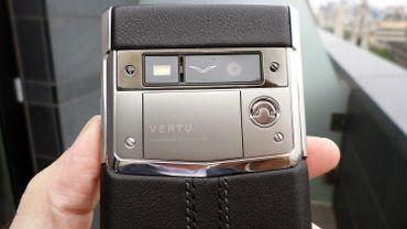 Les smartphones de luxe Vertu changent encore de propriétaire