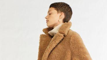 Le manteau Made in France conçu à partir de la laine de chanvre d'Ecopel signé Vanessa Bruno.