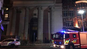 Début d'incendie ce jeudi soir à l'église St-Antoine de Padoue à Charleroi