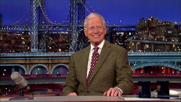 David Letterman lors de l'annonce de sa retraite