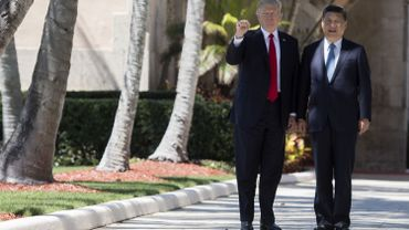 Donald Trump avec Xi Jinping.