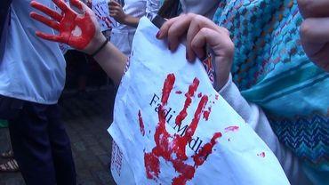 """Se mobiliser pour Gaza: """"Tout le monde est en colère"""""""