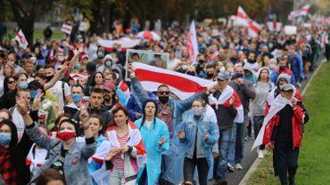 Biéolrussie : les arrestations n'en finissent pas lors des manifestations de l'opposition