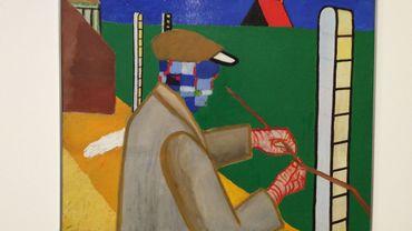 Rétrospective Roger Raveel, au Palais des Beaux-Arts de Bruxelles.