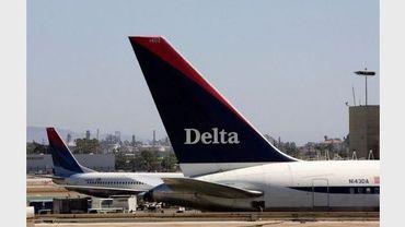 Un avion Delta Airlines le 18 juillet 2007 à Los Angeles