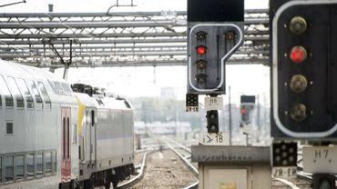 Pas de train sur la ligne à grande vitesse Louvain-Liège à la suite d'un vol de câbles