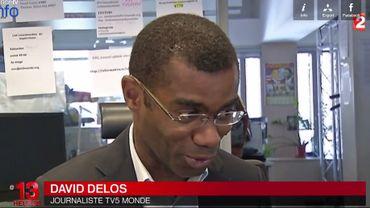 Capture d'écran du JT de 13h de France 2 sur le site FranceTVInfo