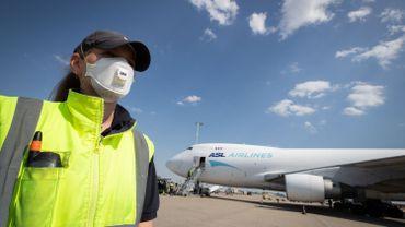 1 milliard de masques ont transité par l'aéroport de Liège