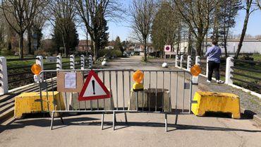 Une frontière d'un axe secondaire fermée vers la France