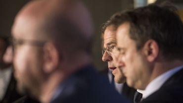 Les trois premiers ministres du Benelux.