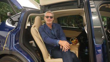 Antoine de Caunes dans le taxi