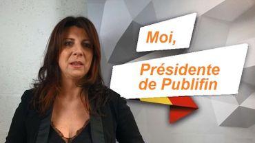 "Muriel Targnon, de ""Moi, bourgmestre"" le lu!ndi à ""Moi, Présidente de Publifin"" le mardi"