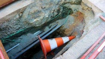 Verviers et Dison: coupures d'eau suite à la rupture d'une conduite