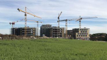 Les travaux du CBTC avancent bien, les premiers bureaux seront accessibles début 2020.