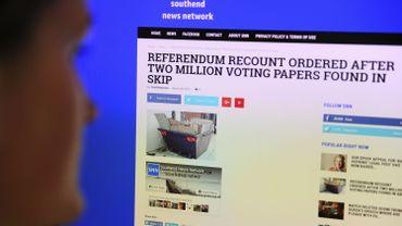 """Les """"fake news"""" circulent six fois plus vite que les vraies infos selon une étude"""