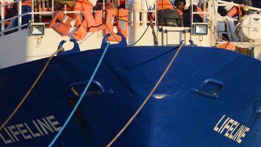 Le Lifeline, affrété par l'ONG allemande du même nom, s'est amarré à l'un des quais du port de la Valette la semaine dernière, où il a ensuite été autorisé à débarquer les migrants qu'il a secourus au large de la Libye.