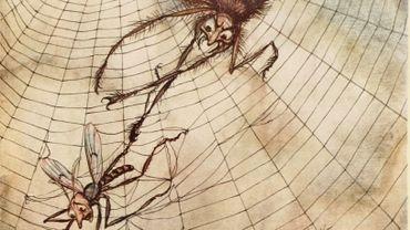 Illustration d'Arthur Rackham pour les Fables d'Ésope