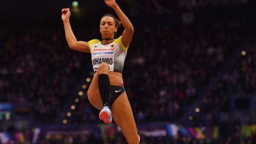 Mihambo titrée à la longueur avec un saut à 6.75m