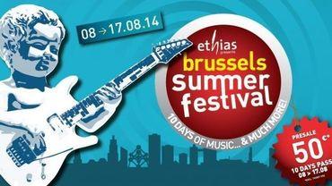 Le Brussels Summer Festival se tient du 8 au 17 août