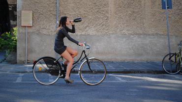 """Sabine : """" comme il n'y a pas de retrait de permis vélo, l'amende doit être plus élevée """""""