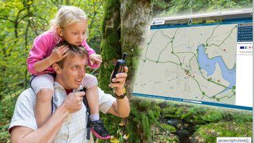 Un planificateur de promenades en ligne pour les promeneurs des Cantons de l'Est