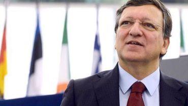 Le président de la Commission européenne, José Manuel Barroso, le 23 octobre 2012 à Strasbourg