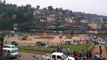Une rue de Bukavu en janvier dernier
