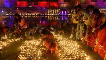 Deux records indiens lors de la fête des lumières