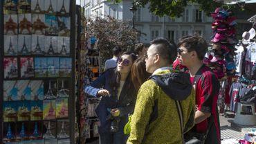 Les touristes chinois choisissent en priorité les grandes capitales, comme ici le quartier Montmartre à Paris mais ils apprécient tous les lieux chargés d'histoire.
