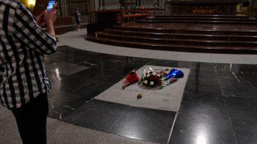 La tombe de Francisco Franco