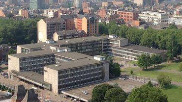 Le palais de justice de Charleroi