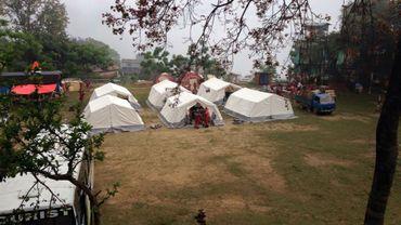 Camp B-fast à Gorkha