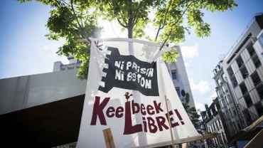 De nombreuses manifestations ont déjà eu lieu pour contrer la construction d'une méga-prison à Haren, sur le terrain du Keelbeek