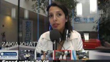 Speed voting Zakia Khattabi (ECOLO)