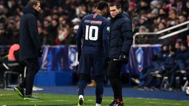 """""""Trop tôt"""" pour évaluer la blessure de Neymar, selon Tuchel"""