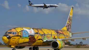Cet avion transportera la sélection brésilienne pendant la Coupe du Monde de football