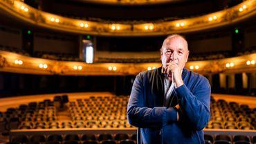Patrick Colpé, directeur du Théâtre de Namur est très inquiet pour l'avenir de son institution.