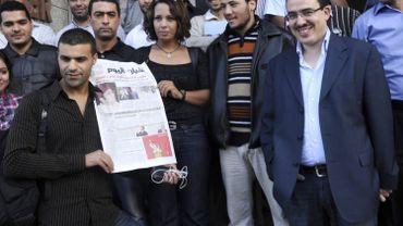 Taoufik Bouachrine, à droite sur cette image prise en 2009.