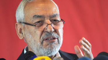 Rached Ghannouchi, leader du parti islamiste Ennahda