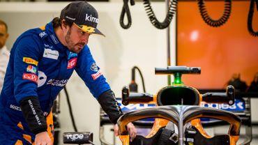 Alonso ne sera pas au départ des 500 miles d'Indianapolis