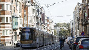 Les trams 7 sont à l'arrêt ce mardi matin