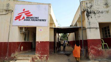 Un bâtiment utilisé par MSF au Nigéria